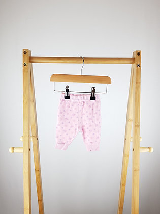 George floral bottoms first size