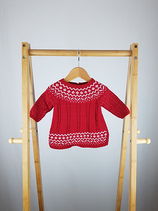 Mothercare knitted dress up to 1 month