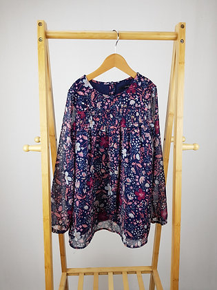 George floral blouse 8-9 years