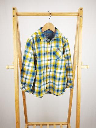 John Lewis tartan shirt 6 years