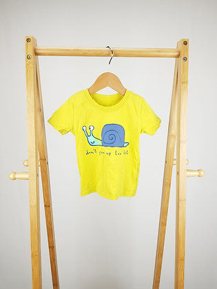 George don't grow up too fast t-shirt 9-12 months