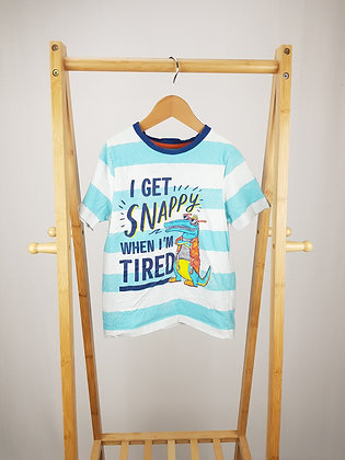George striped t-shirt 6-7 years