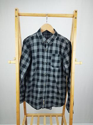 F&F long sleeve checked shirt 13-14 years