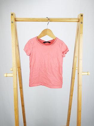 George pink t-shirt 18-24 months