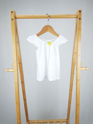 M&S white vest top 12-18 months