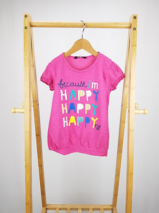 George happy sequin detail t-shirt 5-6 years