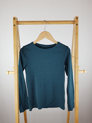 Next green ribbed long sleeve top 12 years