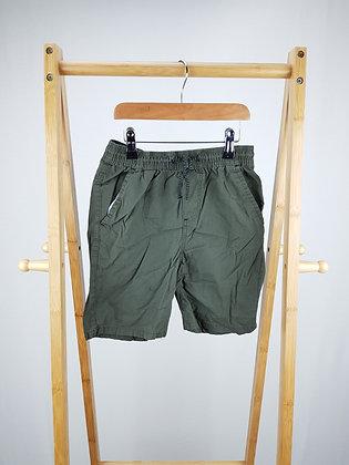 Denim Co khaki shorts 9-10 years
