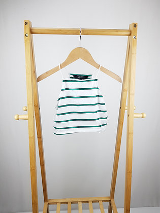 New Look striped top 10-11 years