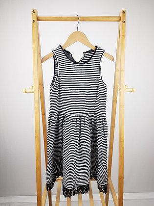 George striped lace trim dress 12-13 years playwear