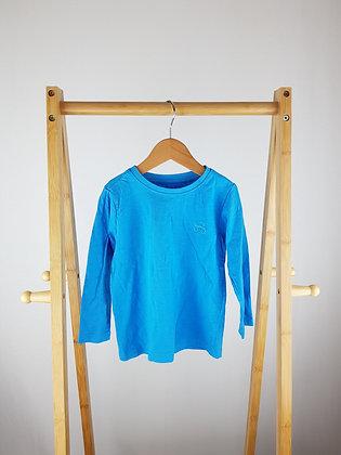 Nutmeg blue long sleeve top 2-3 years