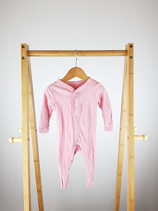 M&S spotted sleepsuit up to 1 month