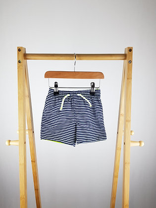 Primark striped shorts 12-18 months