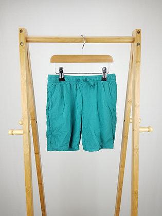 H&M blue shorts 7-8 years
