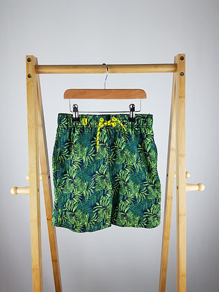Rebel tropical shorts 7-8 years