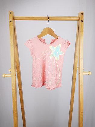 George starfish t-shirt 9-12 months