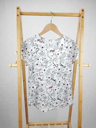H&M patterned Christmas t-shirt 14+ years