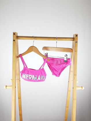 Primark pink mermaid bikini 3-4 years