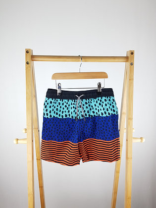 M&S patterned shorts 8-9 years