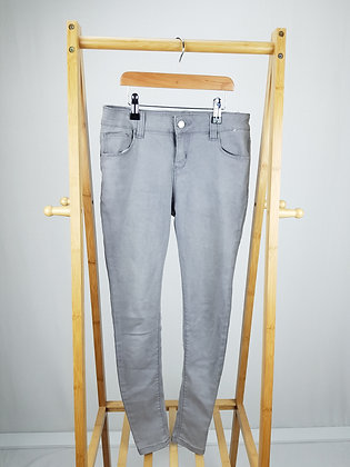 Denim Co grey denim skinny jeans 11-12 years