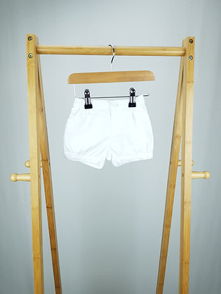 Mothercare white shorts 3-6 months