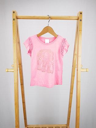 Evie angel pink elephant t-shirt 3 years playwear