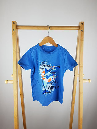 Nutmeg blue t-shirt 3-4 years