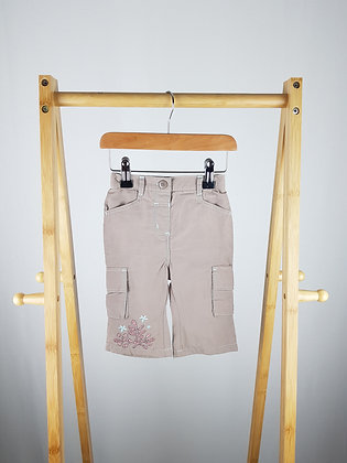 Adams embroidered trousers 6-9 months