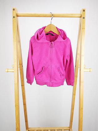 George pink zipped hoodie 2-3 years