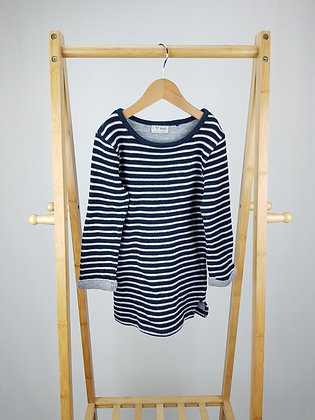 Next striped knitted jumper dress  5 years