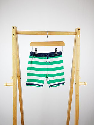 Baby Boden striped shorts 6-12 months