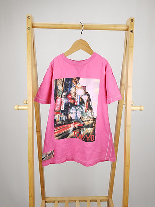 George pink t-shirt 8-9 years