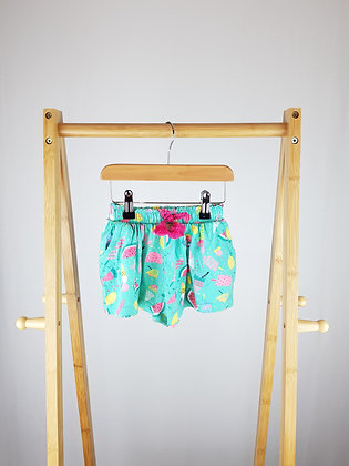 TU watermelon shorts 12-18 months