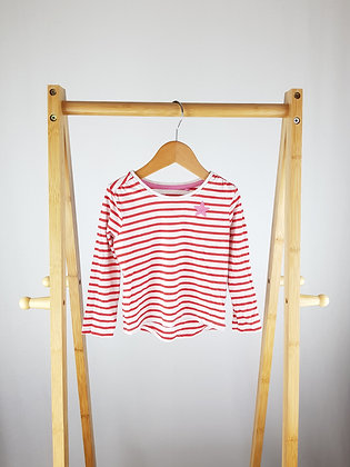 TU striped long sleeve top 12-18 months