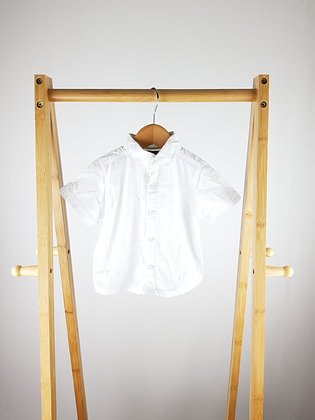 Miniclub collectibles white shirt 6-9 months