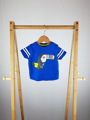 F&F blue t-shirt 3-6 months
