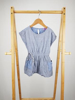 F&F blue dress 2-3 years