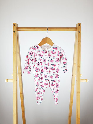 Primark floral sleepsuit up to 1 month
