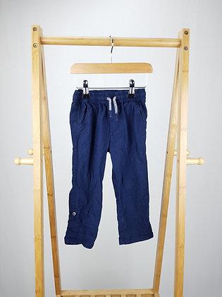 Matalan navy trousers 2-3 years