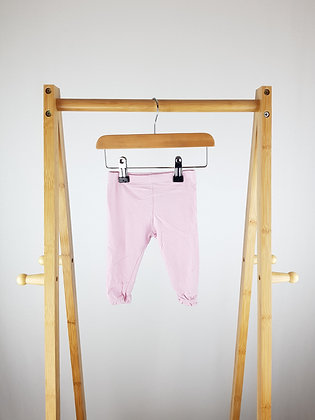 Mothercare pink leggings 3-6 months