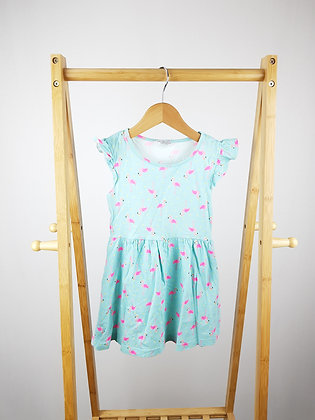 Primark flamingo dress 4-5 years