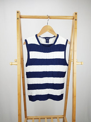 GAP striped knitted vest 13 years