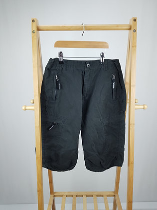 Bench black shorts 13-14 years