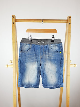 F&F denim shorts 9-10 years