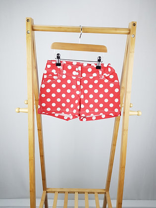 Mini Boden spotted shorts 11 years