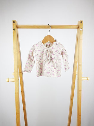 Early days floral long sleeve top 0-3 months