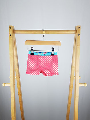 Mini club spotted swimming shorts 6-9 months