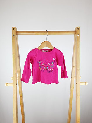 Butterfly by Matthew Williamson long sleeve top 3-6 months
