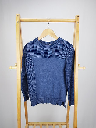 George blue knitted sweater 10-11 years