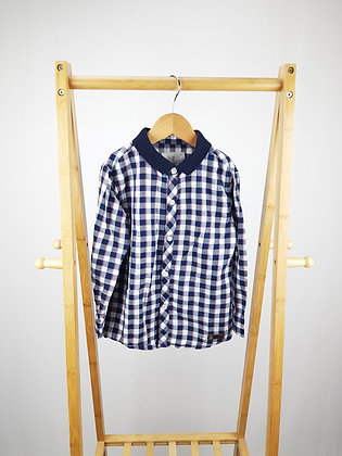 Jasper Conran checked shirt 5-6 years